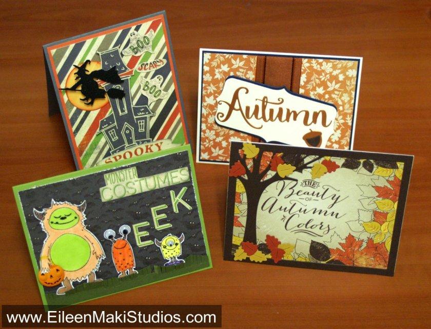 diy crafts cardmaking fall halloween